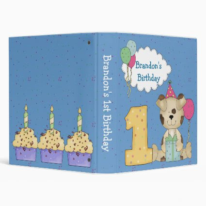 1st Birthday Binder
