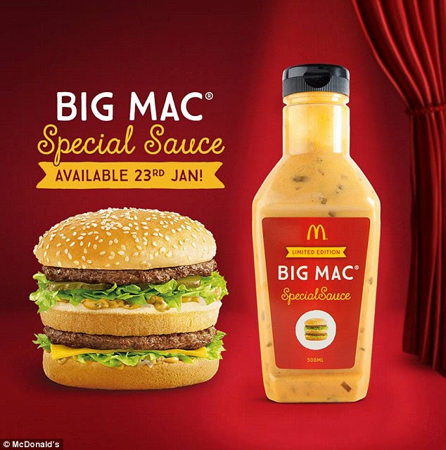 McDonald's Big Mac Special Sauce is selling on Gumtree for ...