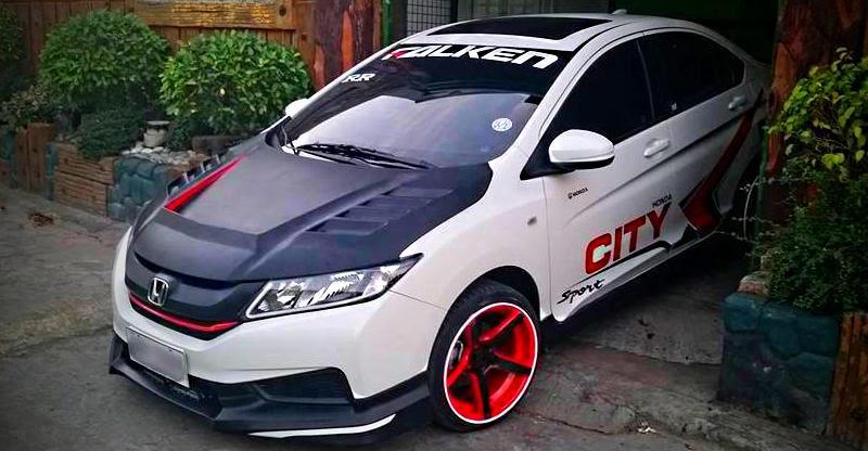Honda City Modified Featured
