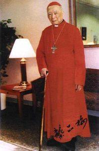 Cardeal Inácio Kung (1901–2000), preso, durante 30 anos, pelos comunistas