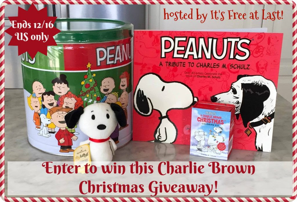 Enter the Charlie Brown Christmas Giveaway. Ends 12/16