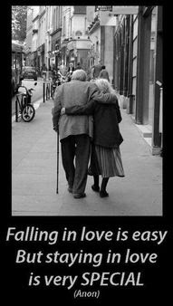 Falling in love is easy, but staying in love is very special. –