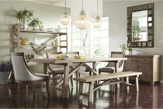 modern dining room chairs cheap | Rustic Modern Dining Room Table And Chairs | Buy Dining ...