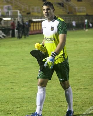 Douglas teve grande atuação na vitória contra o Vasco (Foto: Wallace Feitosa/Volta Redonda FC)