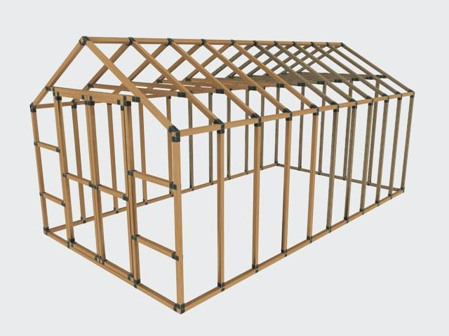 10x20 E Z Frame Basic Kit