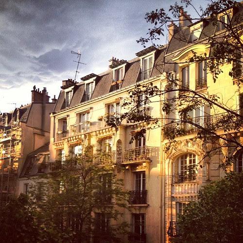 Sunset light by la casa a pois