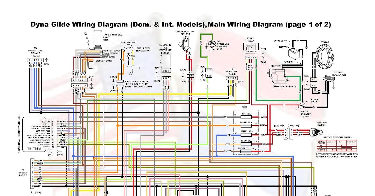 1995 Harley Fxd Wiring Diagram - Wiring Diagram Schema