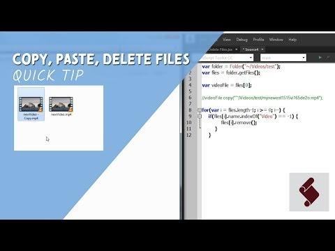 Cara Menggunakan Extendscript Untuk Manajemen File After Effects
