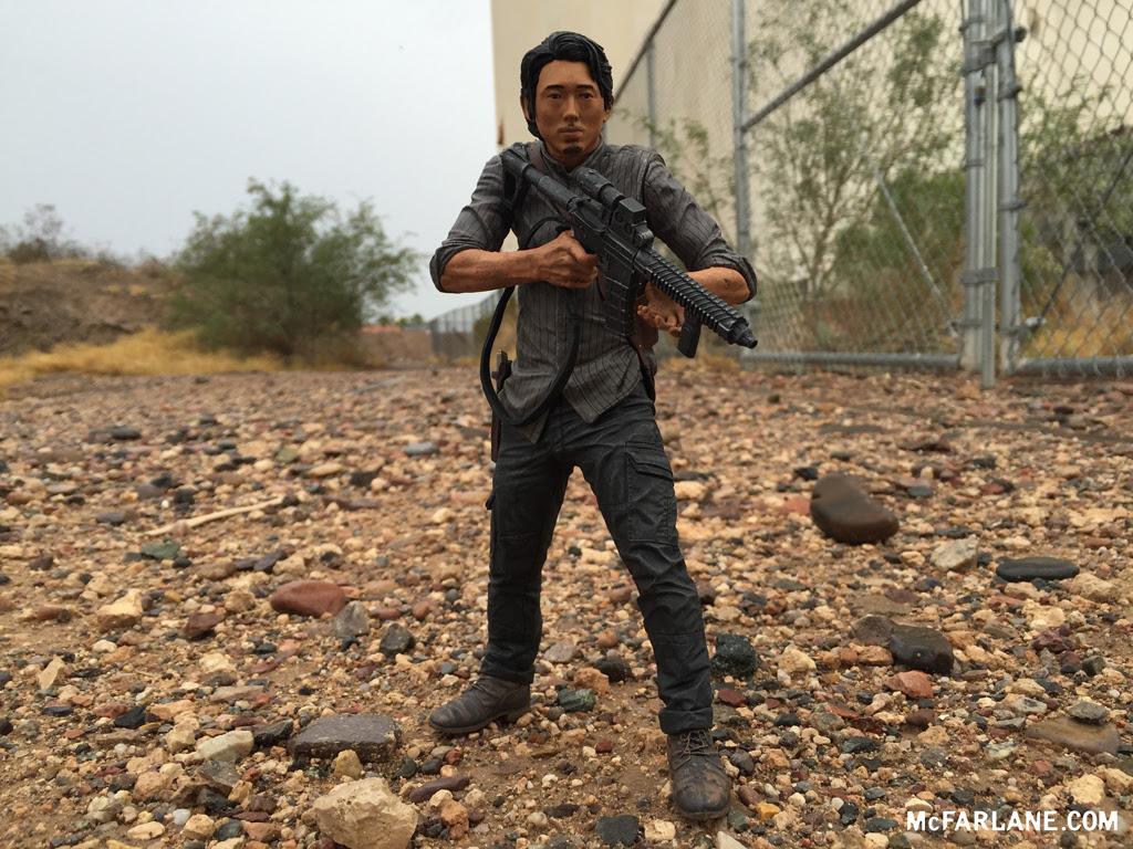 Mcfarlane Toys The Walking Dead Tv Series 10 Glenn Figure