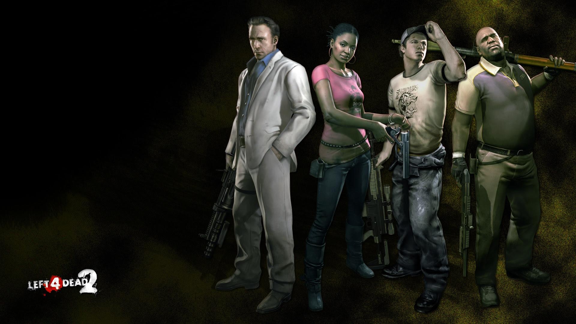 The Survivors Left 4 Dead 2 Wallpaper 38596840 Fanpop