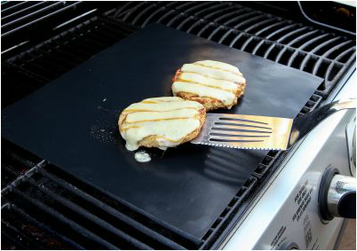 #Yumms BBQ Grill Mats Transform your outdoor grill into a non-stick cooking surface! Plus a #Giveaway that ends 7/5