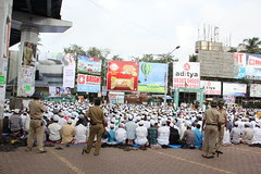 Eid Ul Fitr Namaz Bandra Station 2012 by firoze shakir photographerno1