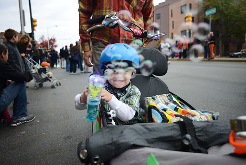 Bubbly Bike (Honk Fest, Cambridge MA)