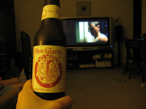New Glarus Two Women beer and Matt Damon