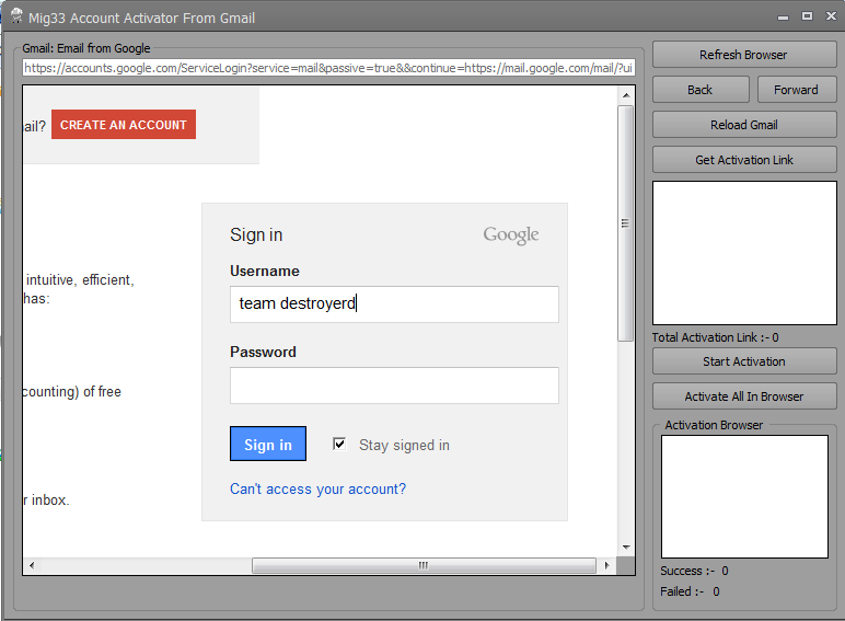 Mig33 Account Activator From Gmail ~ TEAM ...