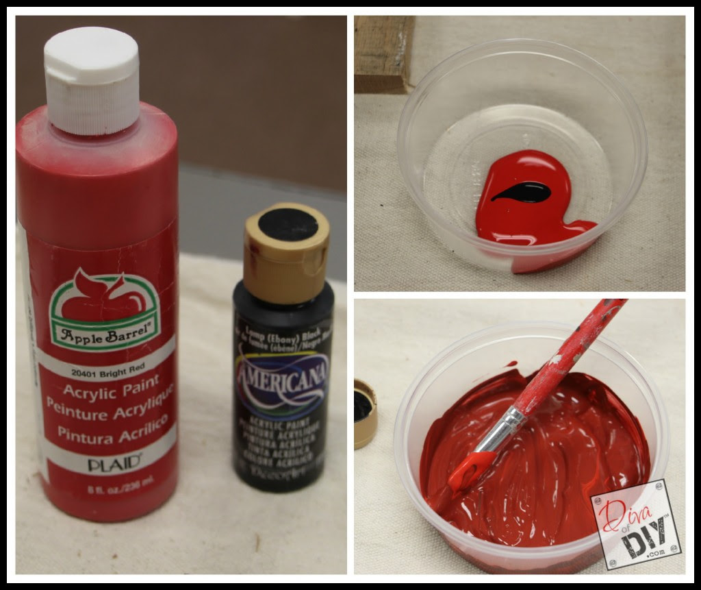 DIY Pallet Art Pic Supplies