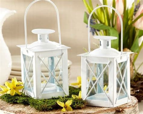 75 White Luminous Mini Lantern Tea Light Holder Wedding