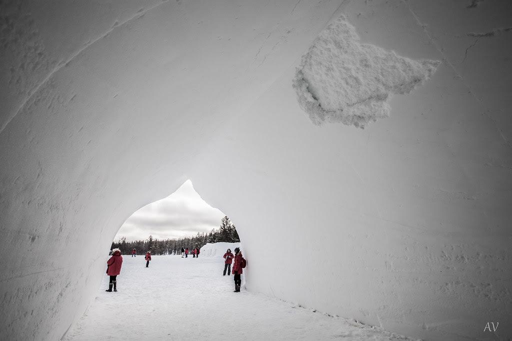 Iglesia de nieve