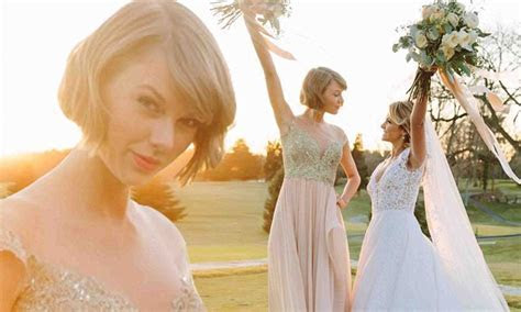 Taylor Swift delivers maid of honour speech at Britany