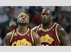 Shaquille O'Neal Says LeBron James Is a Combination of