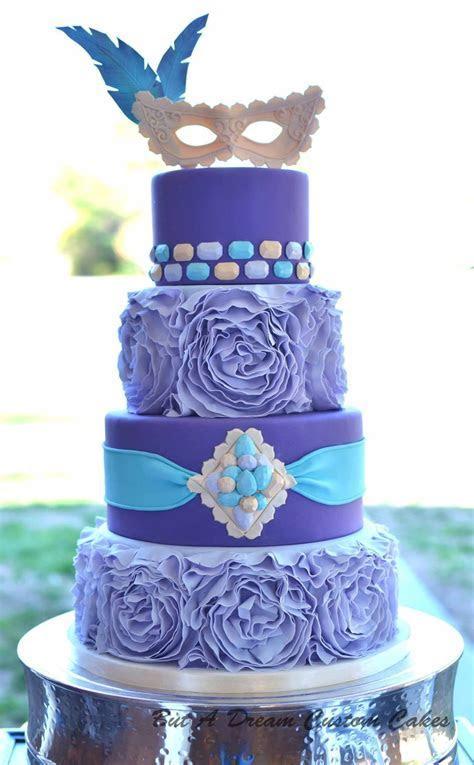 Quinceañera Masquerade Cake   CakeCentral.com