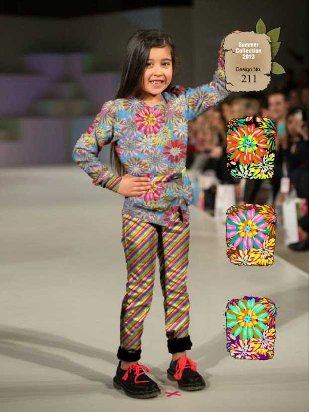 Kids-Childrens-Summer-Casual-Party-Wear-Dresses-Collection-2013-By-Al-Hamra-Fabric-1