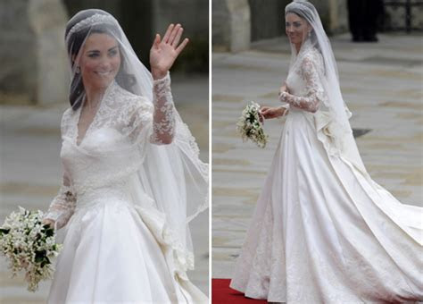 Successful story after her outstanding wedding dress for