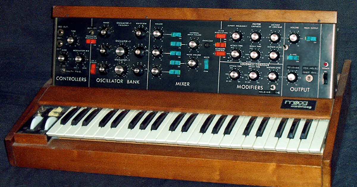 Inaptly Crafted: Minimoog Replica