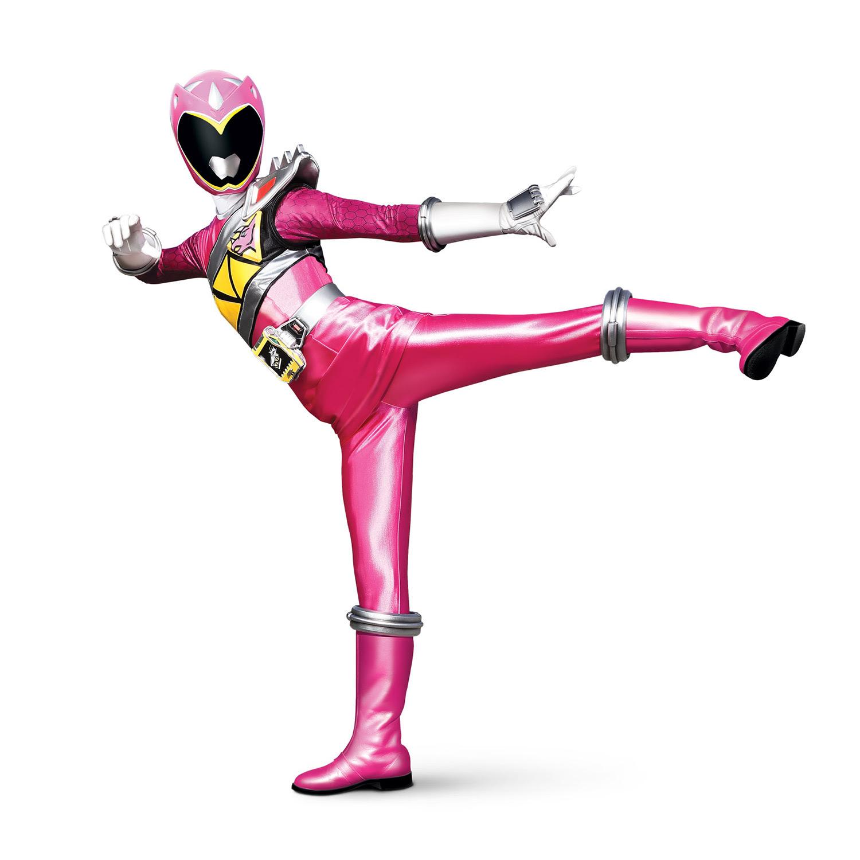 Power Rangers rose Coloriage Héros