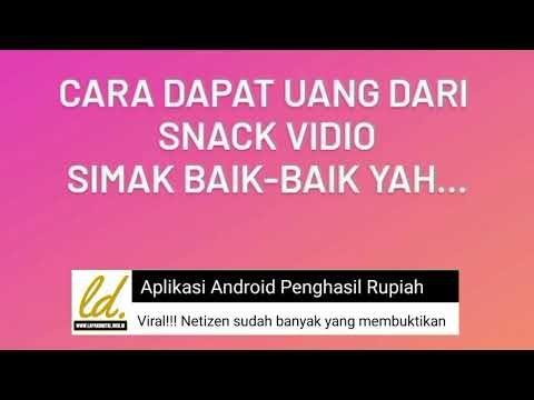 Panduan Daftar Snackvideo mudah dipahami