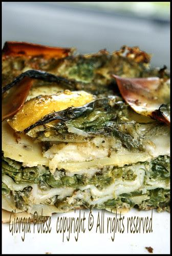 lasagne pestostracco