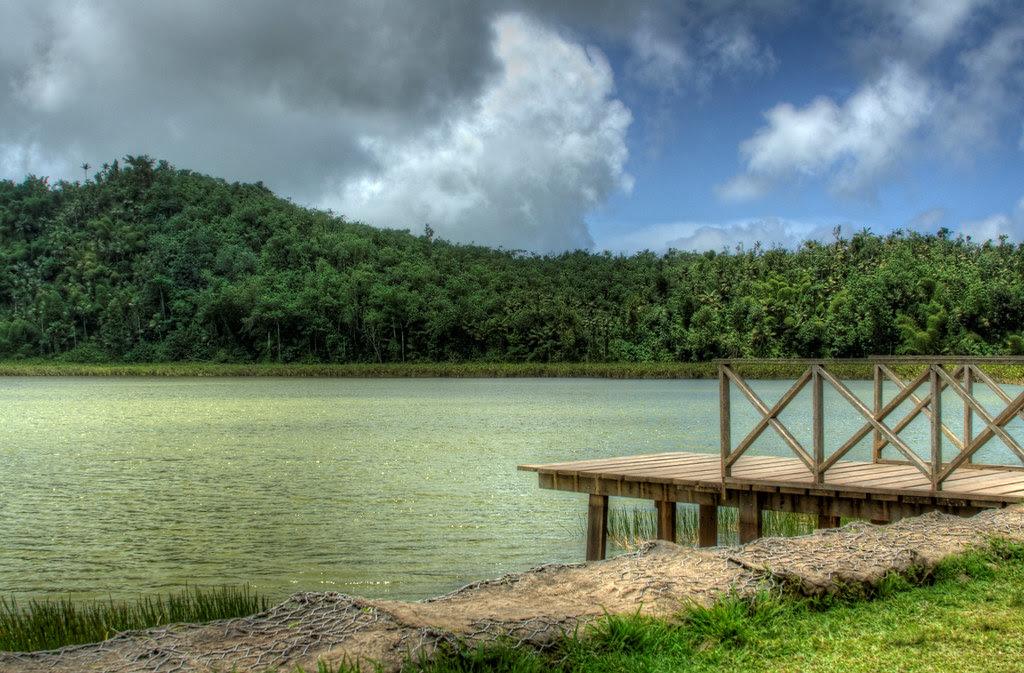 Crater Lake, Grand Etang Nature Reserve, Grenada