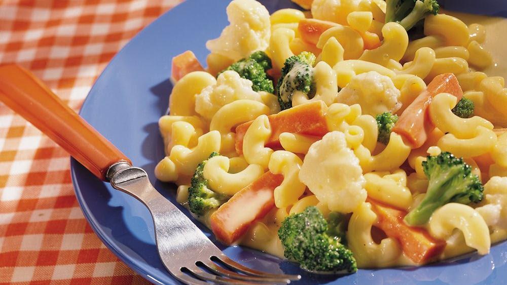 Creamy Vegetable Macaroni and Cheese recipe from Pillsbury.com