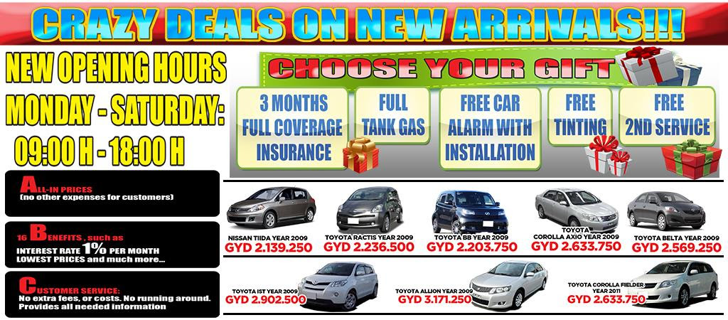 Used Car Dealer Fees >> Cars For Sale In Guyana Blog Otomotif Keren