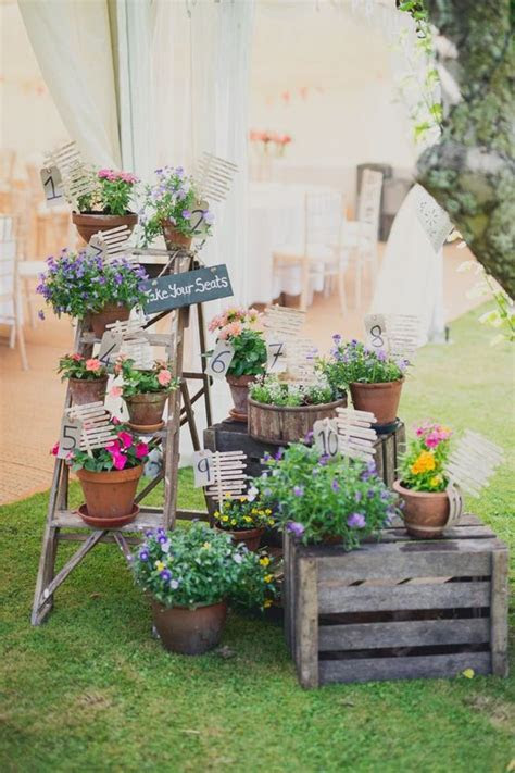 60 Unique Ways to Use Potted Plants In Your Wedding ? Hi
