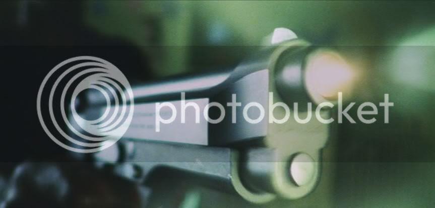 Beretta 92F blast
