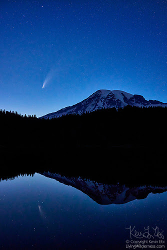 Mount Rainier, Comet and Reflection Lake, Washington
