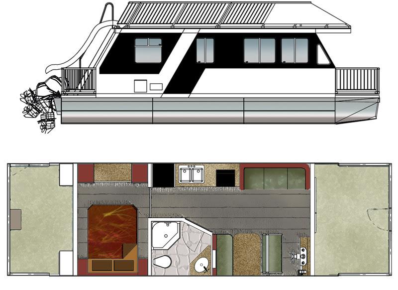Houseboat Plans | Car Interior Design