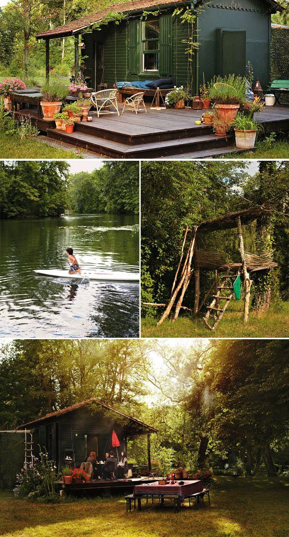 cabin living <3
