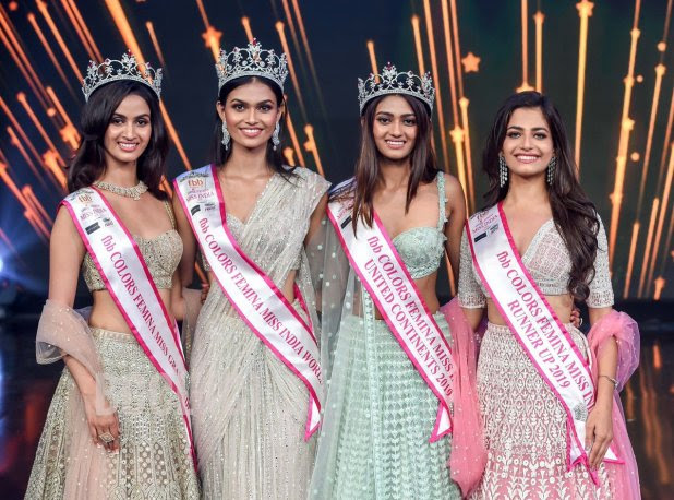 20-year-old Suman Rao from Rajasthan becomes the Miss India 2019.