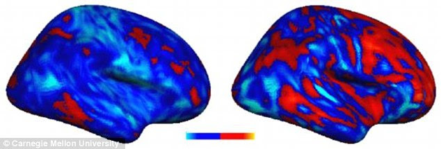 A new study has found people with autism have connections that are uniquely their own. The individual with the more severe autism symptoms (right) showed greater deviations, both positive (more red) and negative (lighter blue), from the typical connectivity pattern compared to the individual with the less severe autism (left)