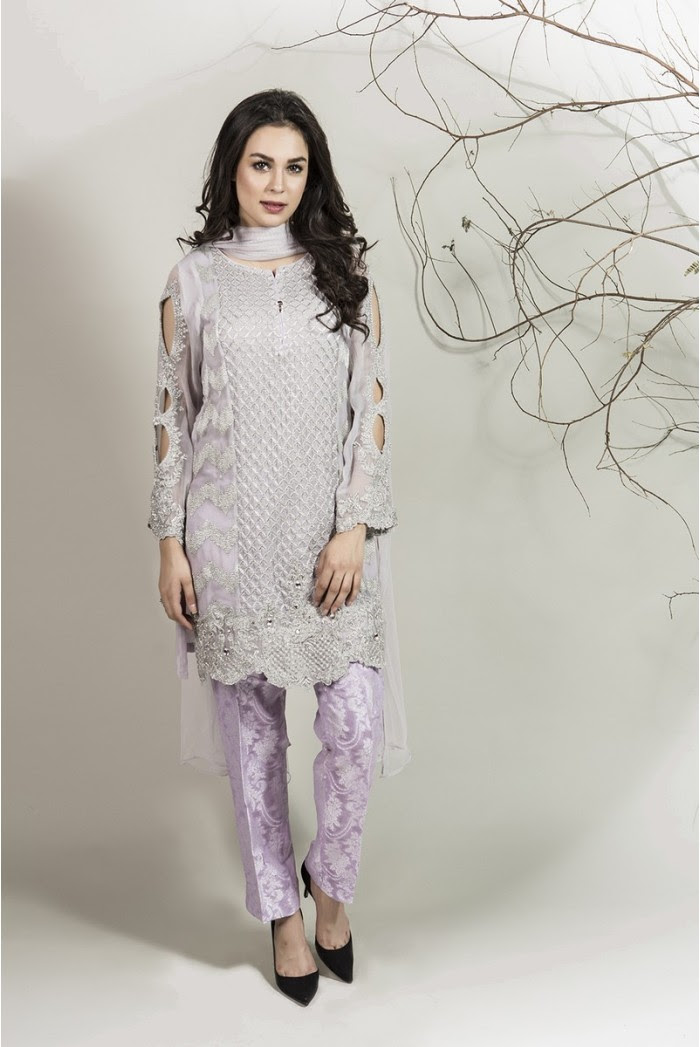 winter party wear dressesmaria b stitched collection