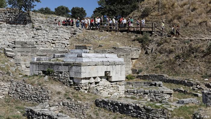 The Troy excavation site (Photo: imago/imagebroker)