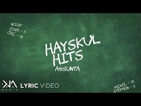 Hayskul Hits by Agsunta [Lyrics Video]