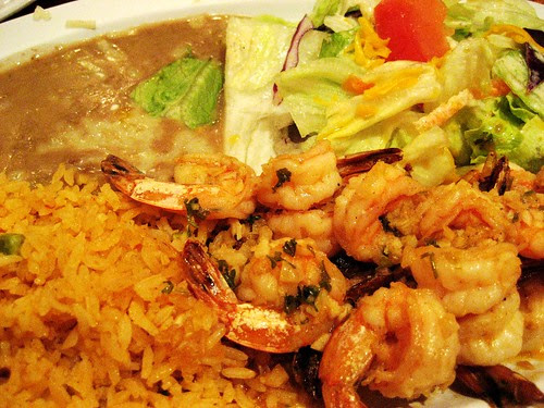 Shrimp Dinner @ Rodeo Mexican Grill