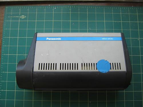 Panasonic WV-200 - Side