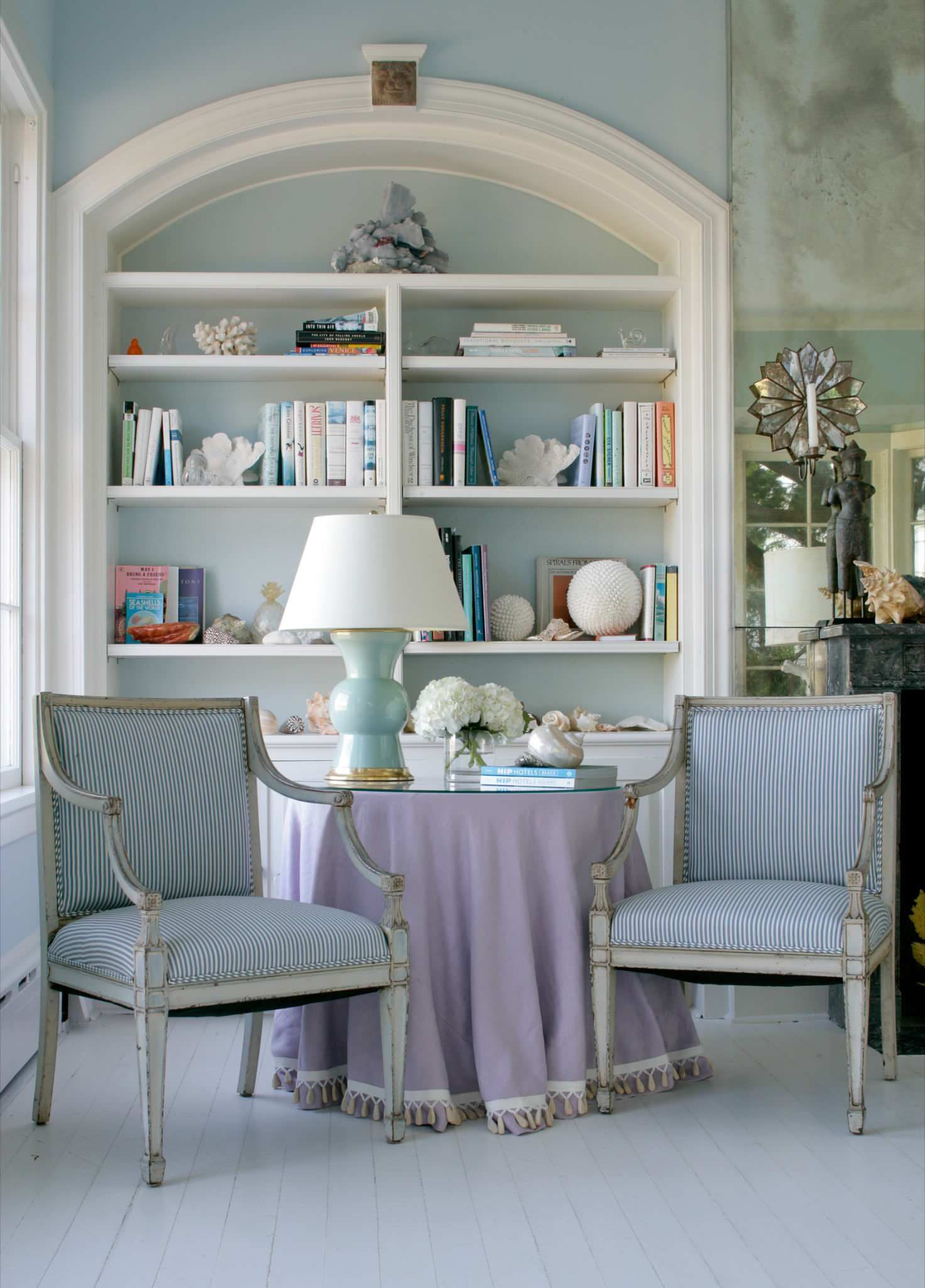Blue Living Rooms Made For Relaxing