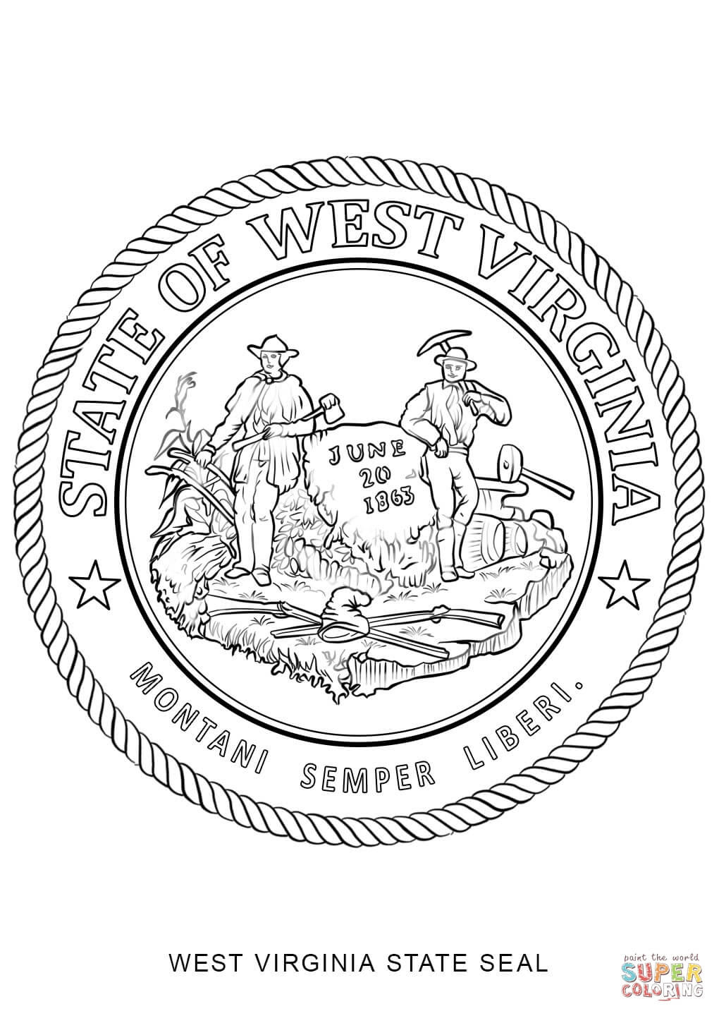 nc state seal coloring pages - photo#9