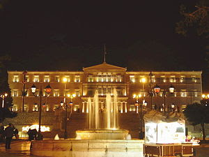 English: The Greek Parliament in Athens