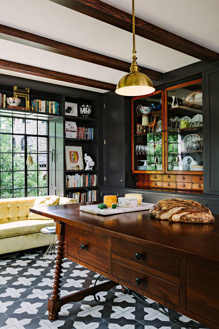 Elegant Mediterranean Style Kitchen Design | iDesignArch ...
